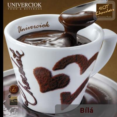 Horká čokoláda Univerciok bílá od Sweetcoffee