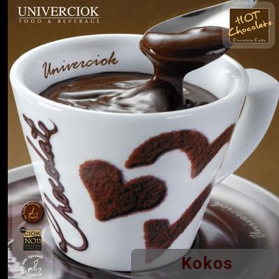 Horká čokoláda Univerciok kokos od Sweetcoffee