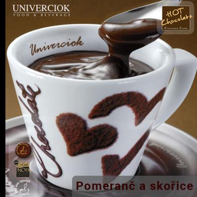 Horká čokoláda Univerciok pomeranč a skořice od Sweetcoffee