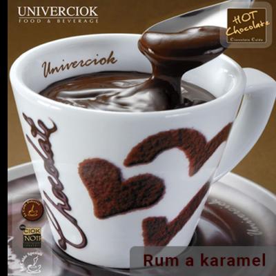 Horká čokoláda Univerciok rum a karamel od Sweetcoffee
