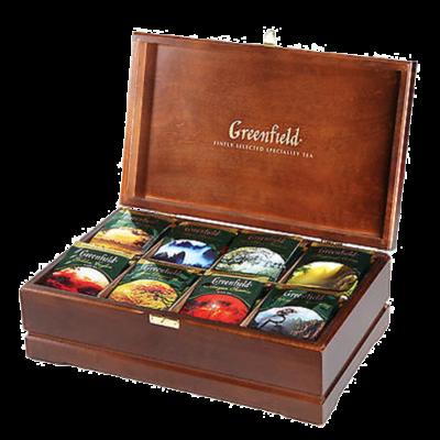 Greenfield čajový prezentér