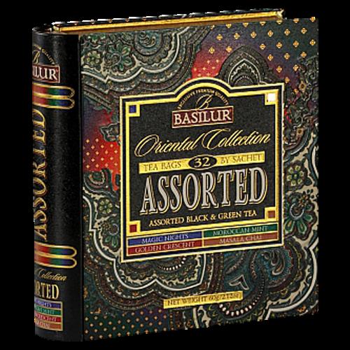 BASILUR Book Assorted Orient plech 24x2 g a 8x1,5 g